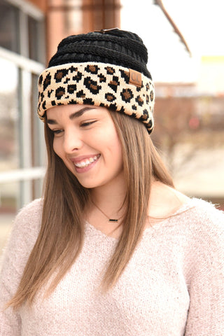 The LaRue Ponytail Beanie - Pattern