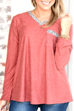 Sweet And Sassy Top - Cranberry
