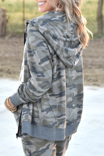 Good To Go Jacket - Camo