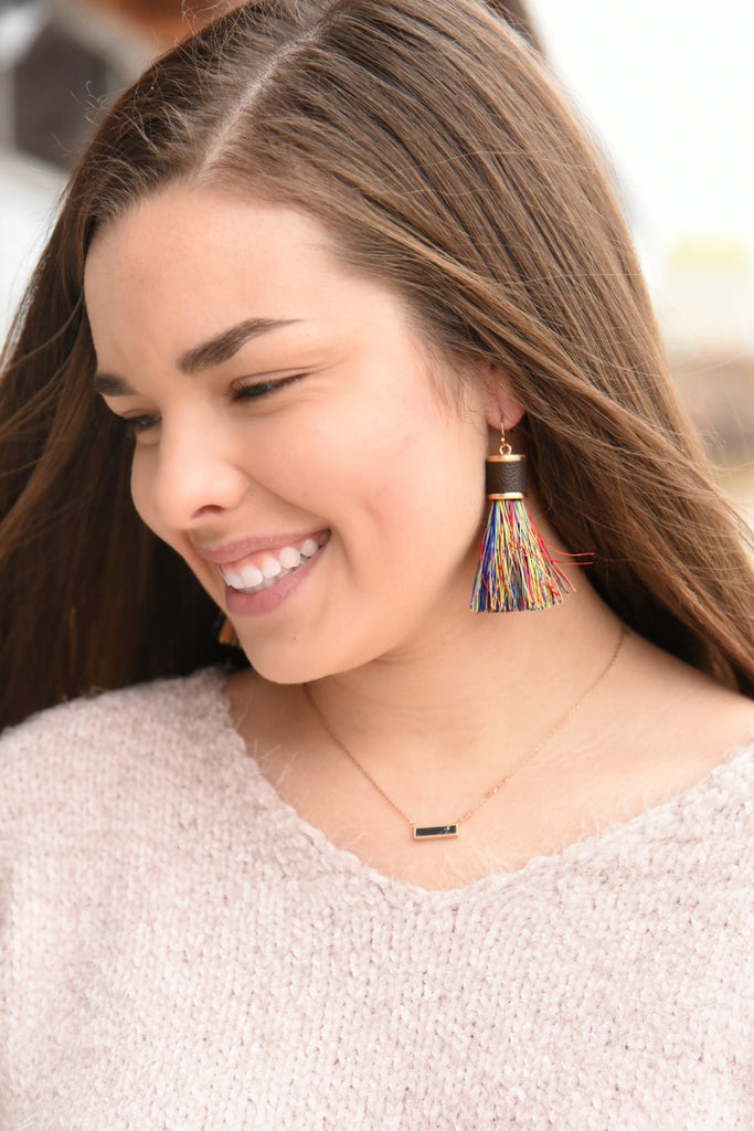 Oh My Love Tassel Earrings