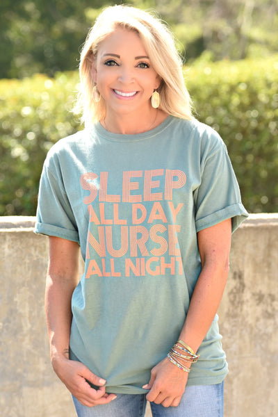 Sleep All Day Tee