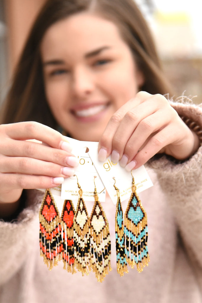 A Pop Of Color Earrings
