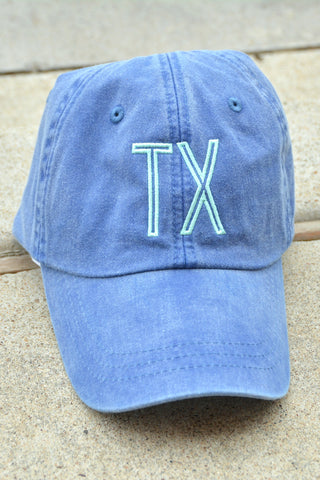 Charlie Southern State Hat - Blue/Mint Texas