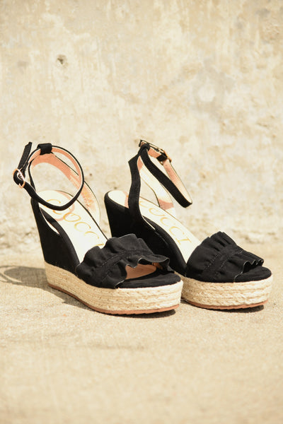 Going My Way Wedges - Black