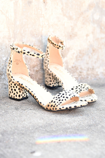 Wild Child Heels - Cheetah