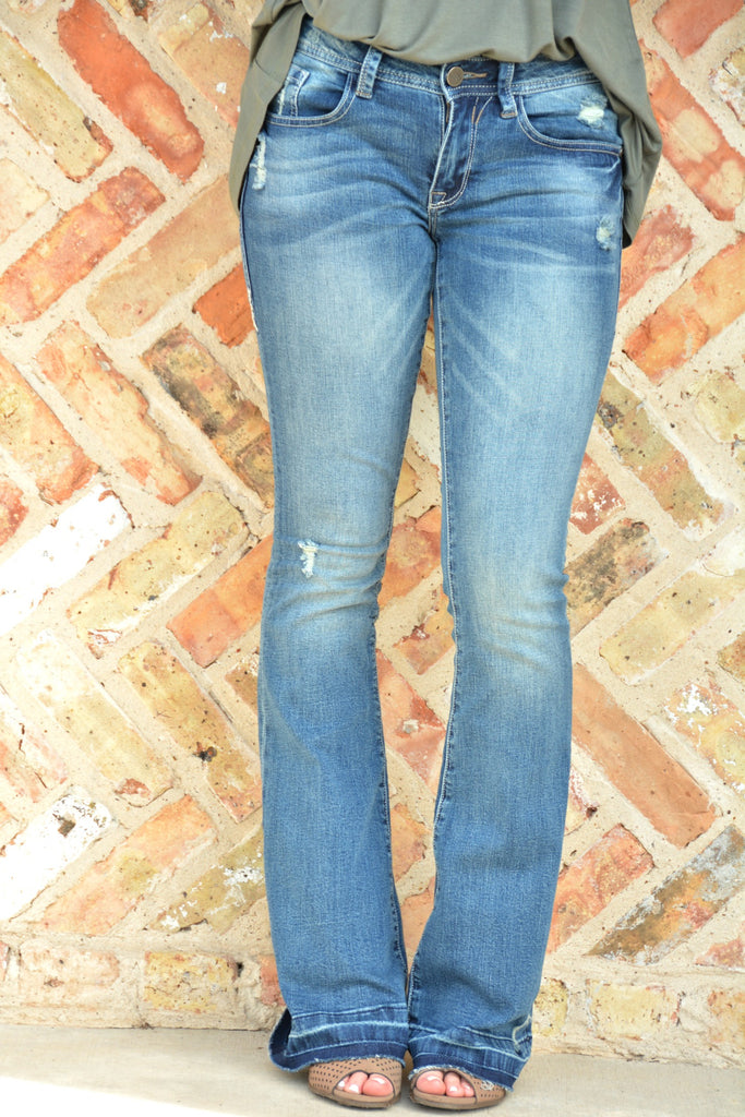 On The Road Flare Jeans