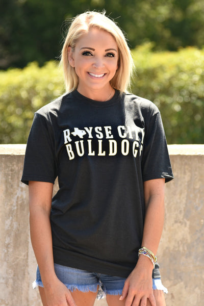 Royse City State Tee - Charcoal