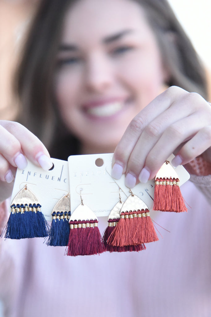 Simply Sweet Tassel Earrings