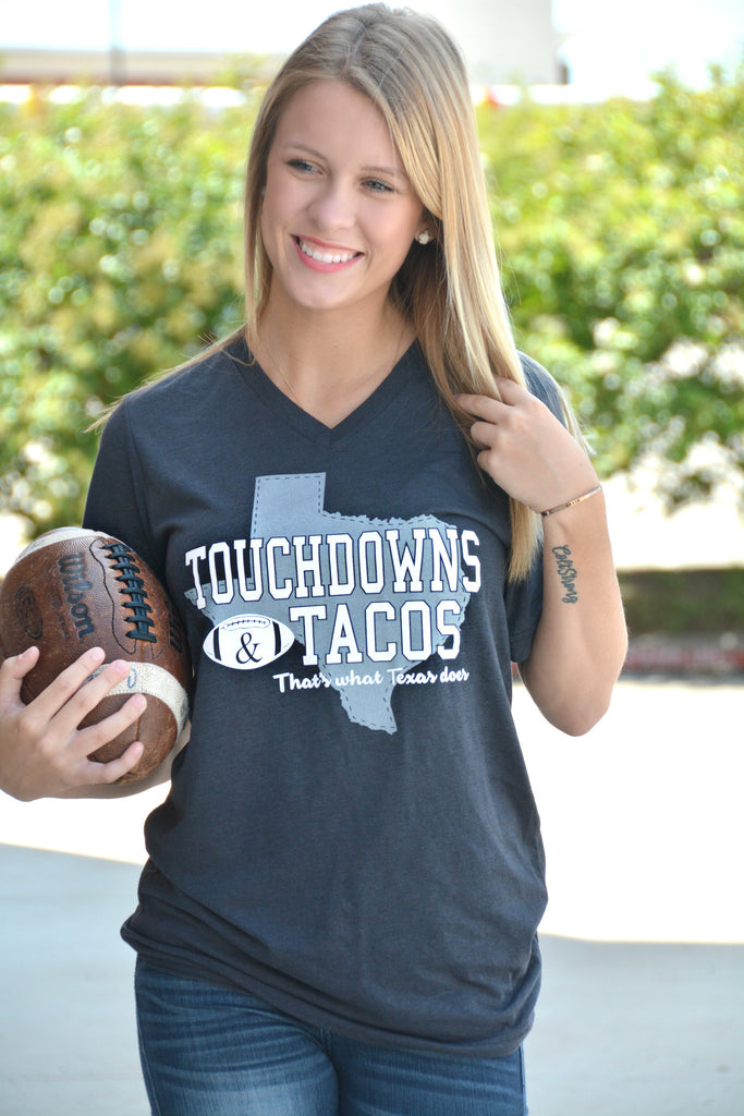 Touchdowns & Tacos Tee