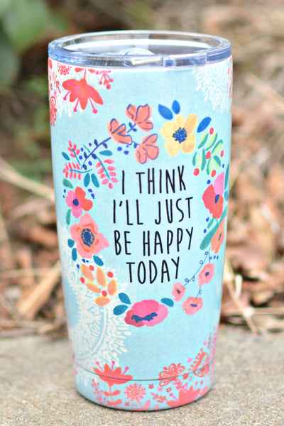 Natural Life Tumbler - Happy Today