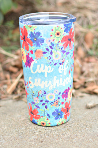 Natural Life Tumbler - Cup Of Sunshine
