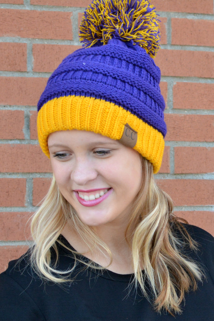 The LaRue Beanie With PomPom