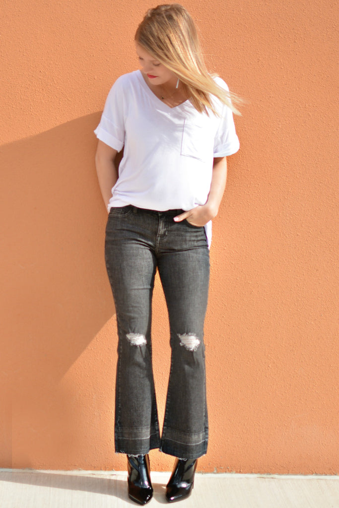 Fun And Free Cropped Flare