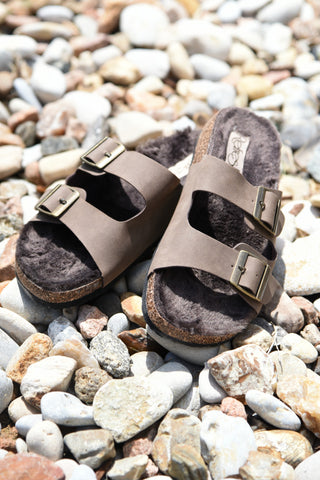 Walk With Me Sandals - Brown