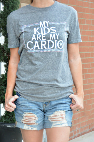 My Kids Are My Cardio Tee
