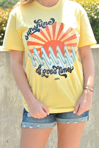 Sunshine And Good Times Tee