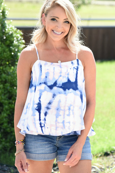 Perfect Summer Tank - Navy