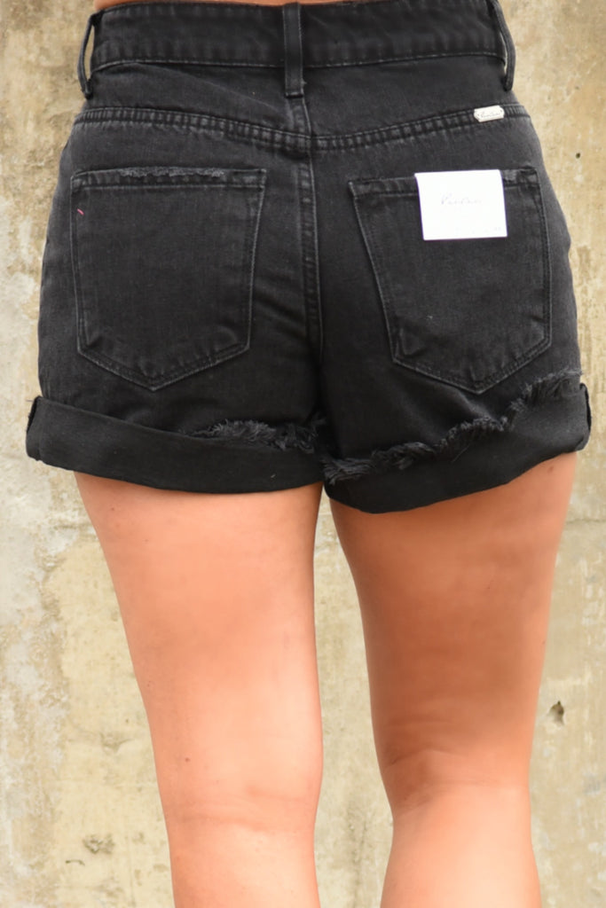 KanCan - Summer Flair Shorts - Black