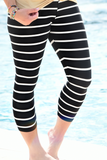 Not So Basic Legging - Striped