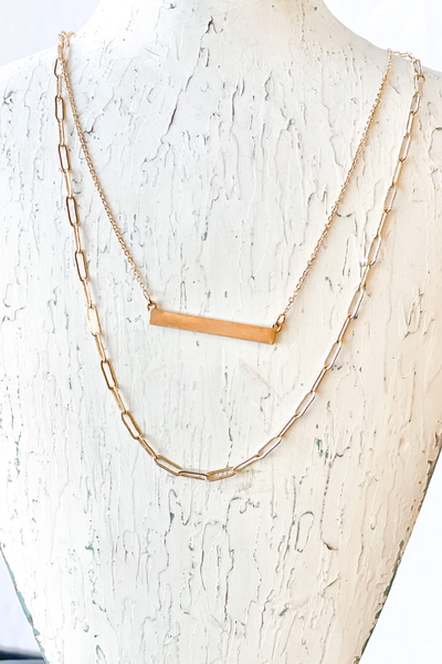 Linked with Layers Necklace