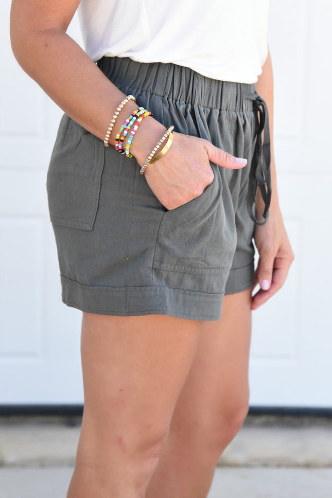 My Days Complete Shorts - Olive
