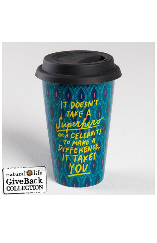 Natural Life Thermal Mug - Superhero
