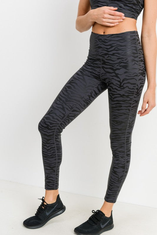 tiger-print-athletic-leggings