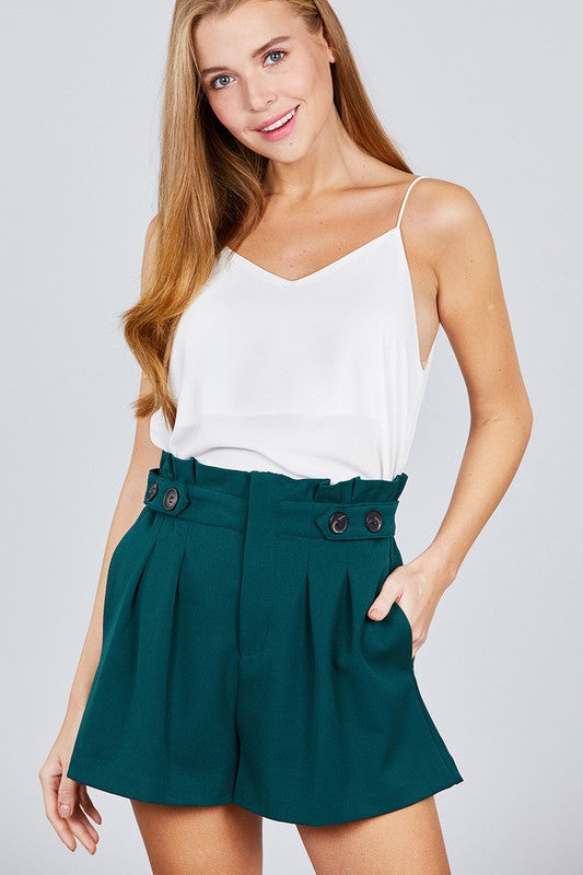 Double V Neck Cami (3 Colors)