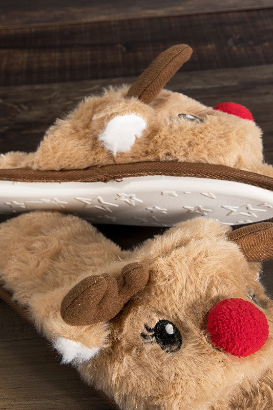 reindeer-slippers