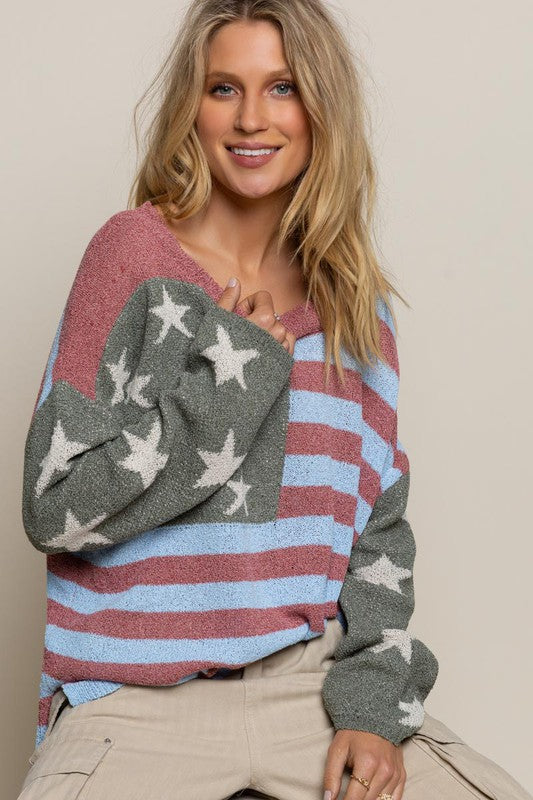 God Bless America Sweater (2 Colors)