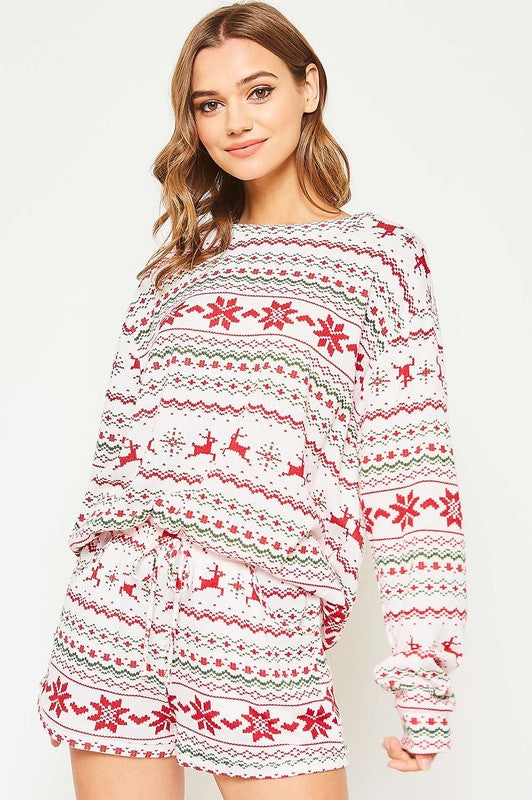 Fair Isle Holiday Set