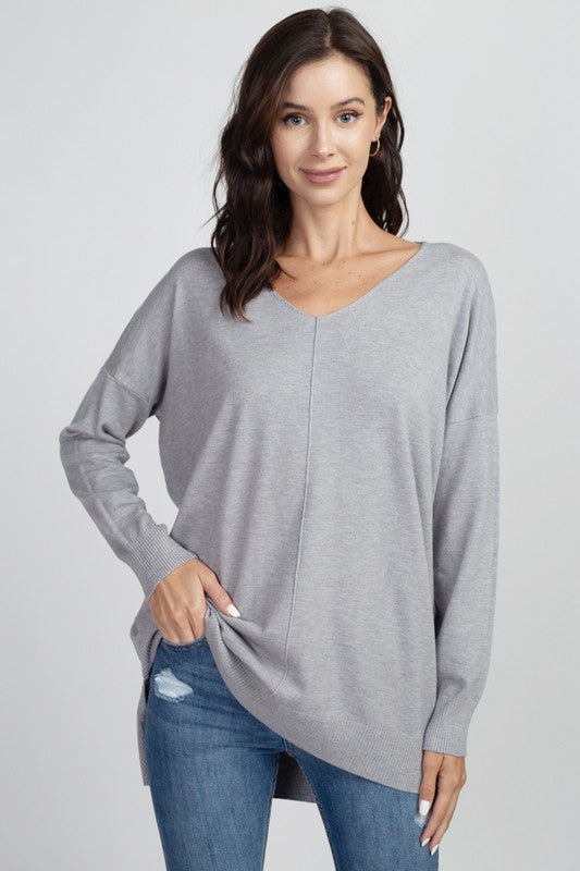 Easy to Love Tunic Sweater (7 Colors)