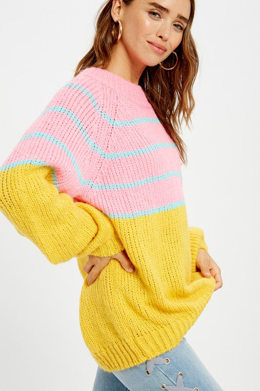 Strawberry Candy Sweater