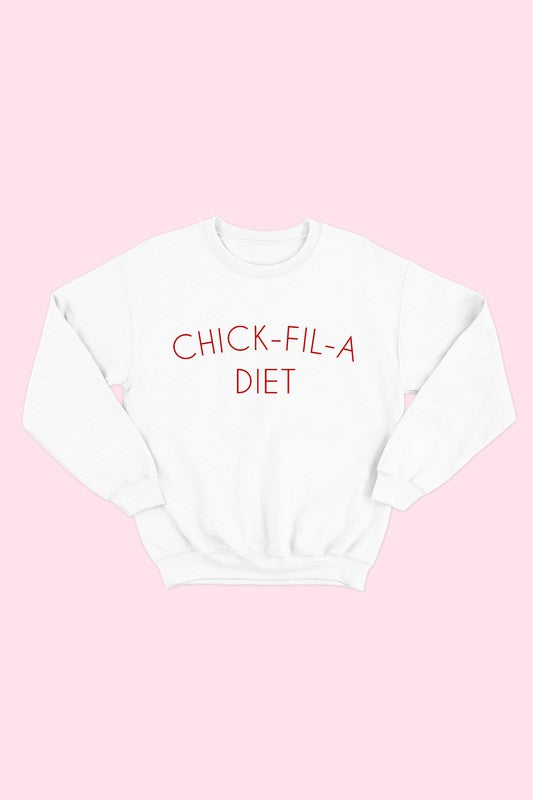 Chick-Fil-A Diet Sweatshirt