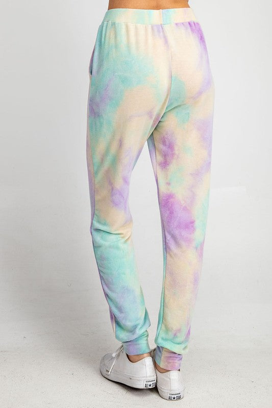 Dreaming in Color Tie Dye Joggers (2 Colors)