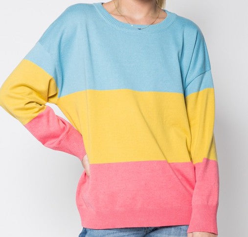 Sherbet Sunrise Sweater