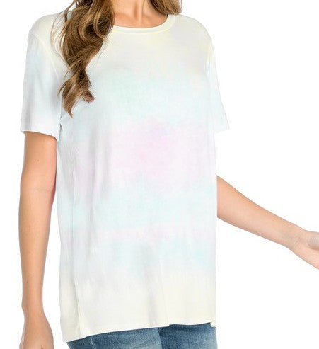 Blurred Lines Tie Dye Tee (2 Colors)