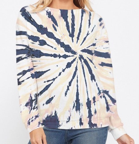 Neutral Zone Tie Dye Pullover