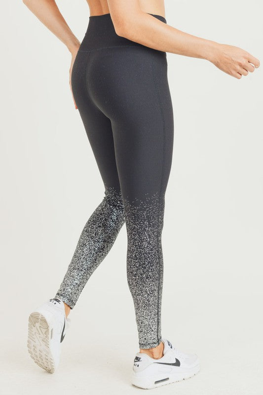 Ombre Glitter Leggings (2 Colors)