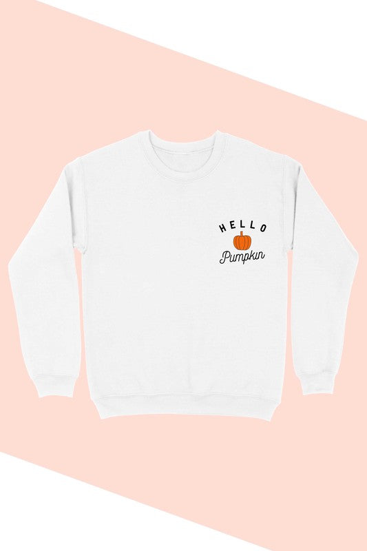 Hello Pumpkin Sweatshirt