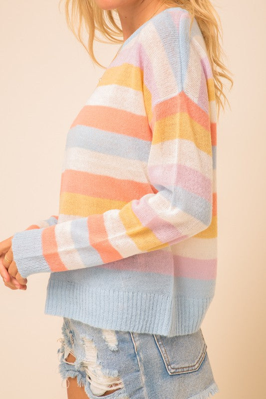 What Sherbet Dreams Are Made of Sweater