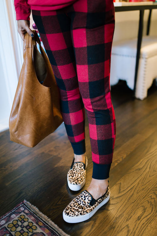 Buffalo Checkered Joggers