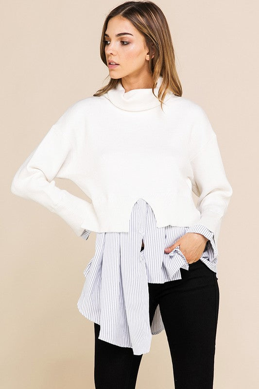 Keep it Classy Layered Sweater