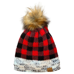 buffalo-plaid-beanie-grey-cuff