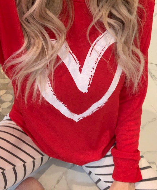 Written on Your Heart Pullover (2 Colors)