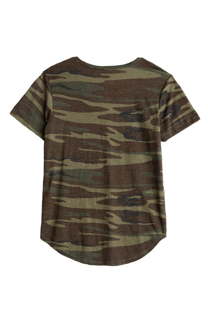 Z Supply Camo V Neck