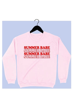 Summer Babe Sweatshirt