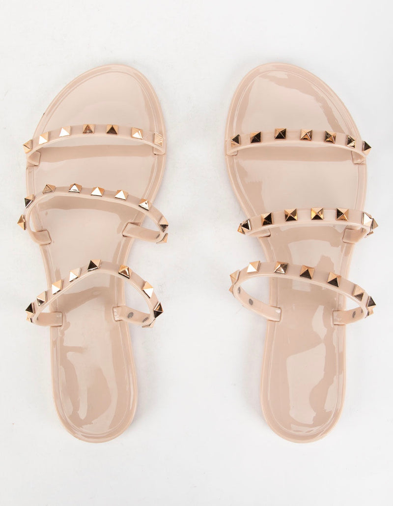 Triple Threat Studded Sandal
