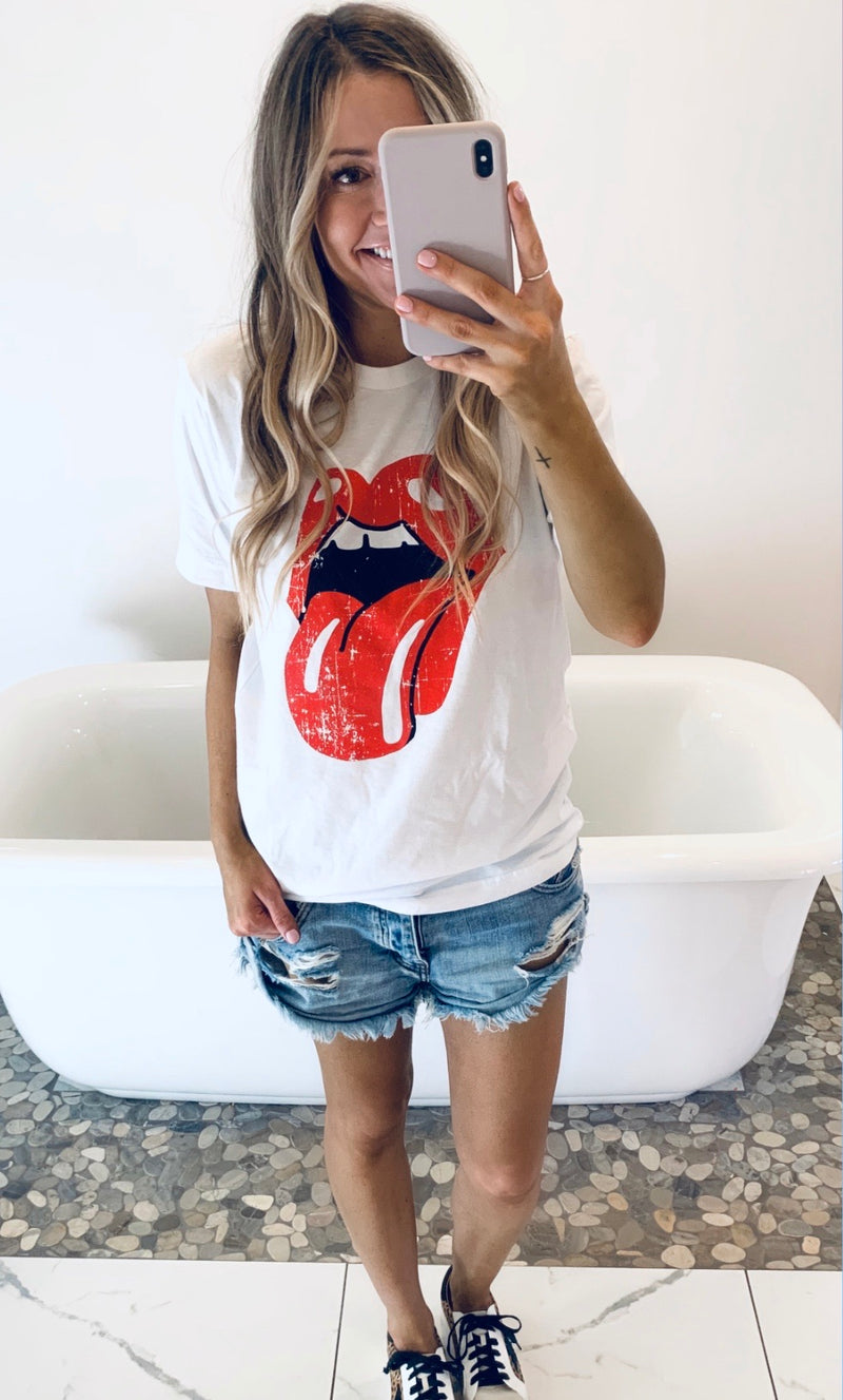 Red Tongue Tee