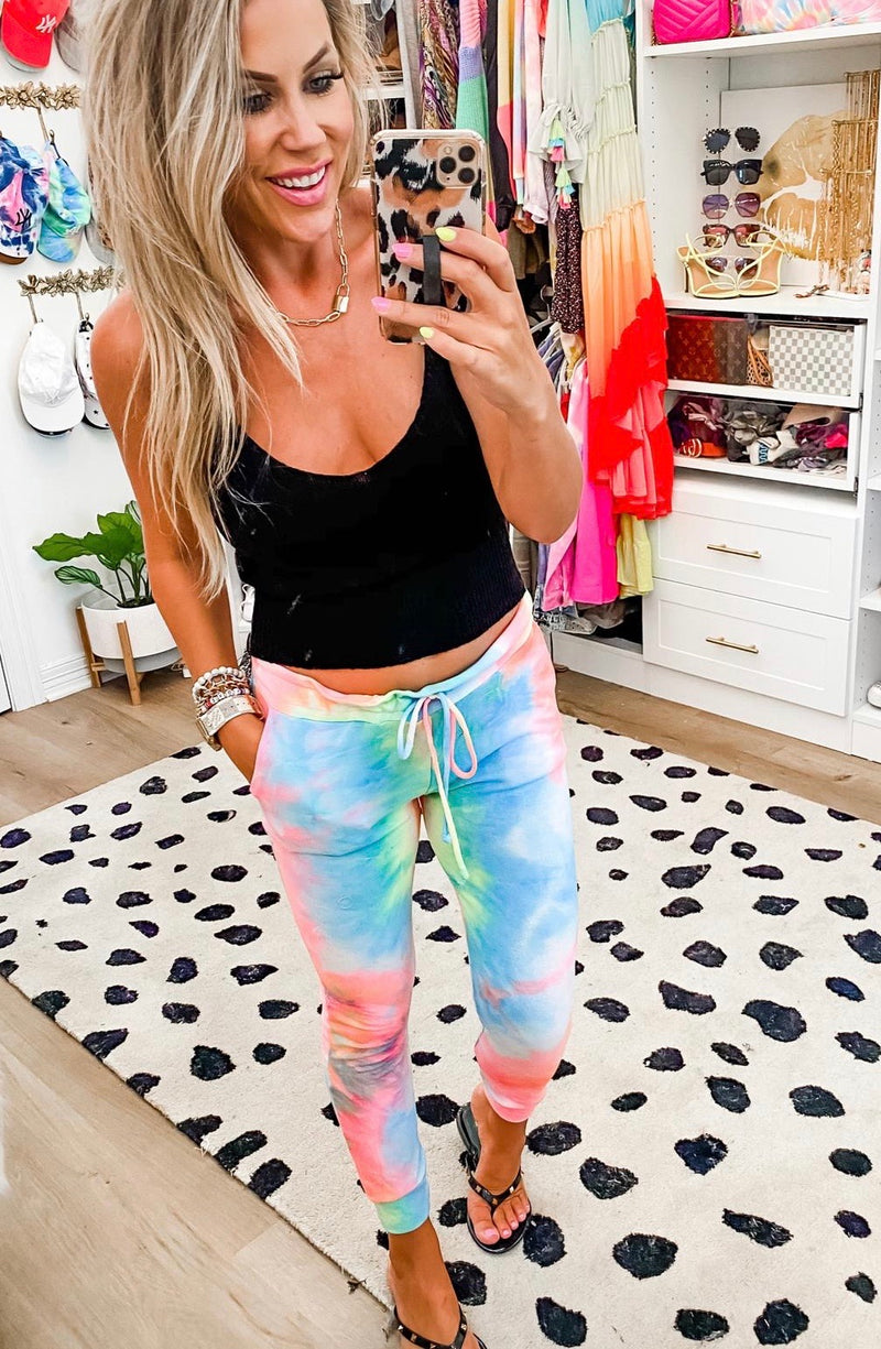 Summer in the City Tie Dye Joggers (2 Colors)